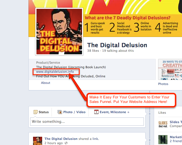 Digital Delusion Tools and techniques Facebook website address